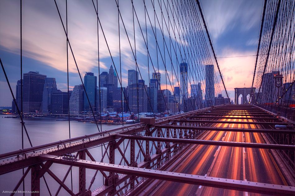 Brooklyn Bridge, l'un des meilleurs spots à New-York pour faire des photos