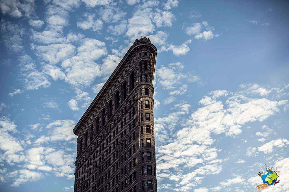 Le Flatiron building est un des bâtiments à absolument faire à New-York