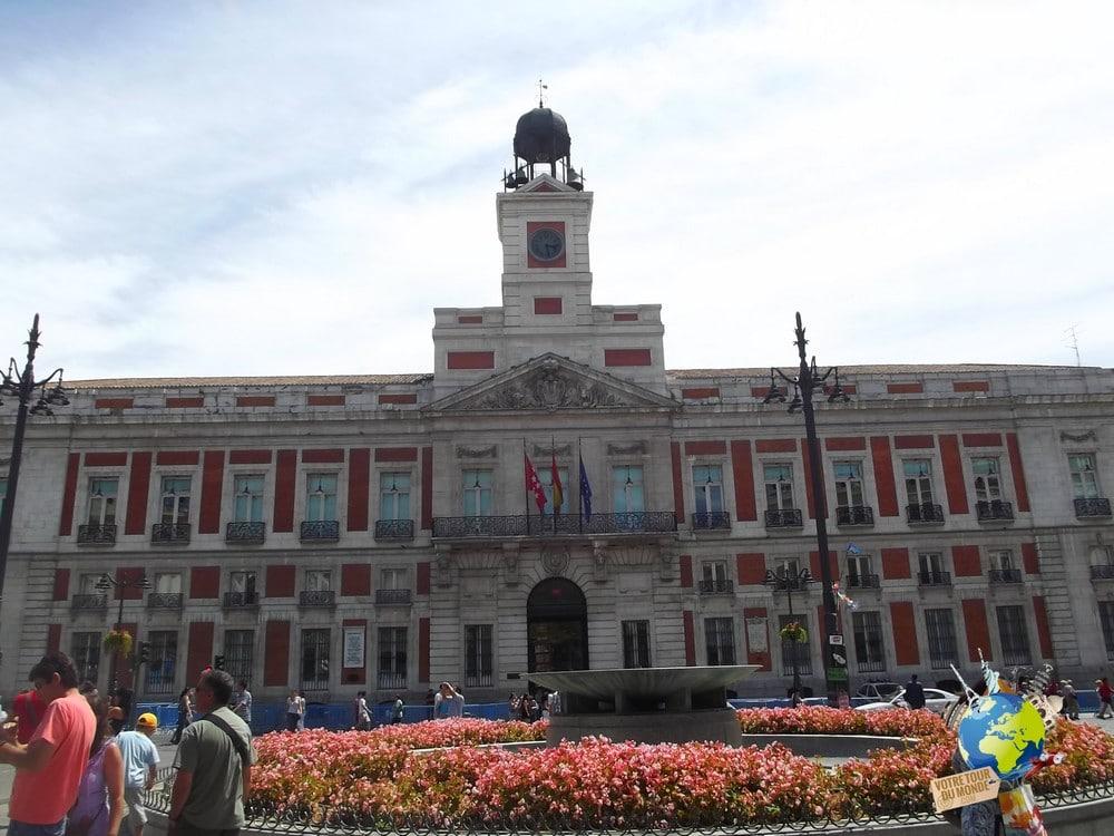 Itin raire madrid capitale de l 39 espagne for Gran via puerta del sol