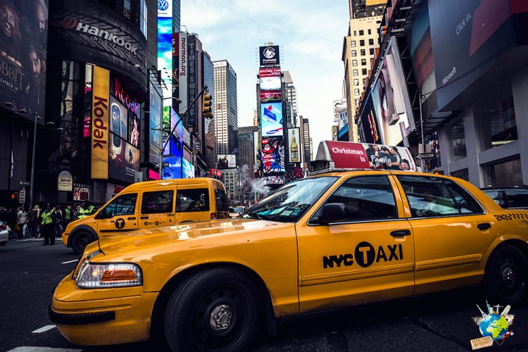 Times Square est visité par 365 000 personnes tous les jours, c'est le lieu le plus visité de New-York