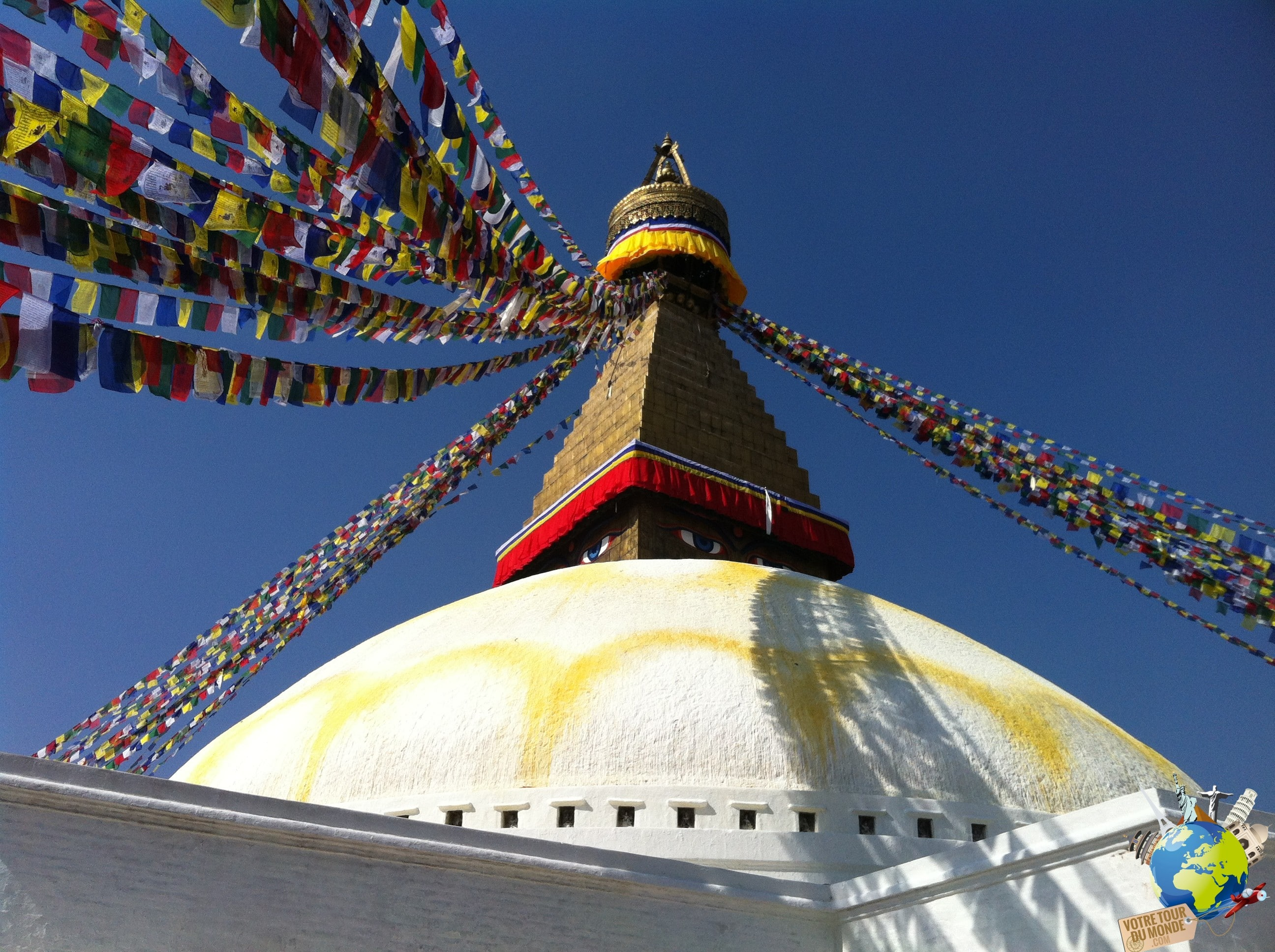 Le stupa de Bodhnath