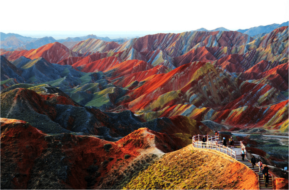 Montagnes colorées Chine