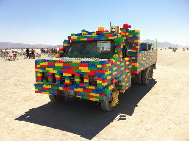 Burning Man la voiture pour se déplacer