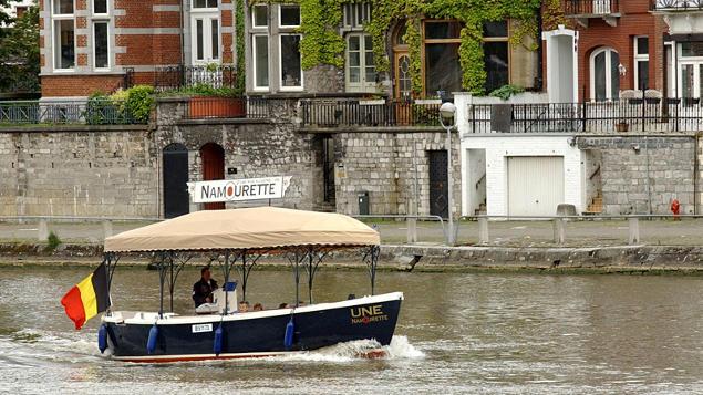 itinéraire à Namur