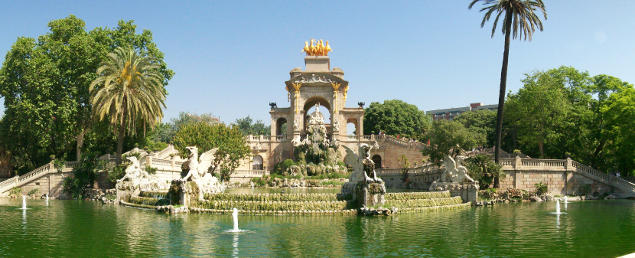 Top 5 espaces verts Barcelone