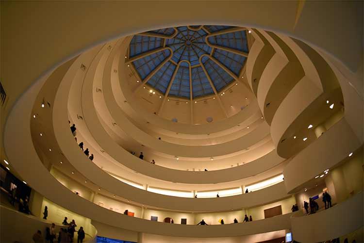 Le très connu Musée Guggenheim, qui coute normalement plus de 20 dollars l'entrée...