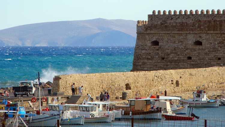 que visiter en crete grece heraklion