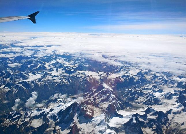 vue de l avion