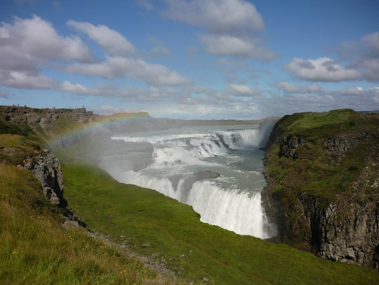 chutes islande
