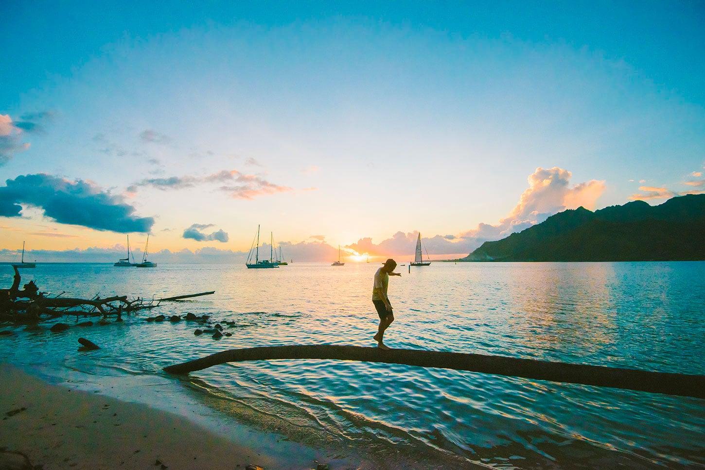 Ta'ahiamanu est une plage publique à faire à Tahiti