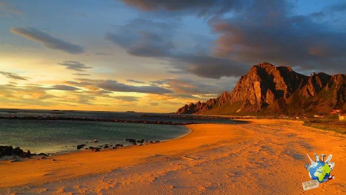 Itin raire dans les les lofoten a ne pas rater - Les plus beaux coucher de soleil sur la mer ...