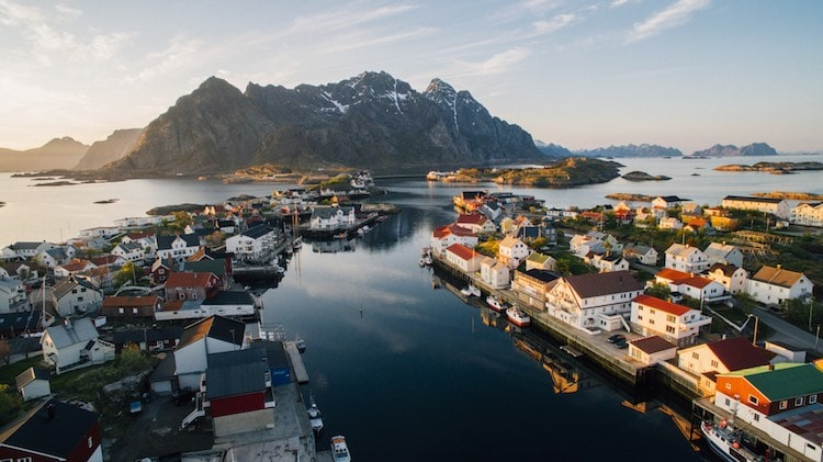 Henningsvær villes à découvrir en Europe