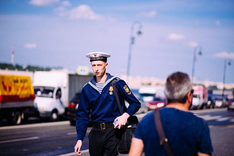 La levée des ponts à Saint-Pétersbourg