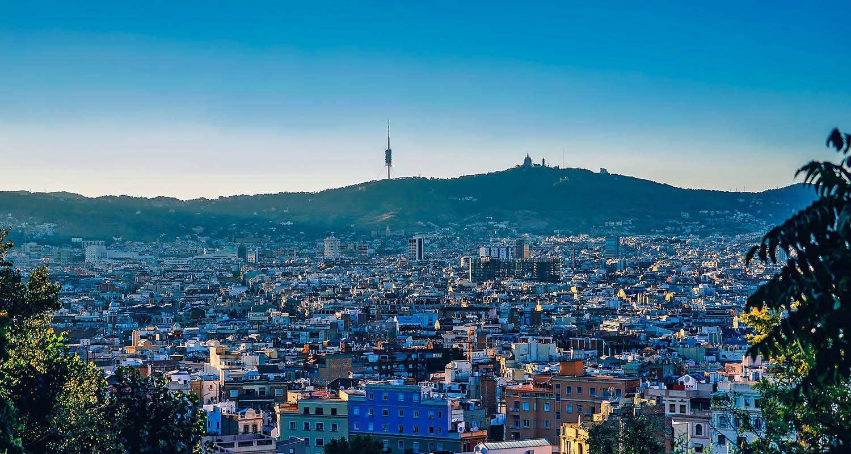 La ville vue d'en haut