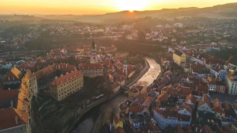 cesky krumlov - ville a découvrir en Europe