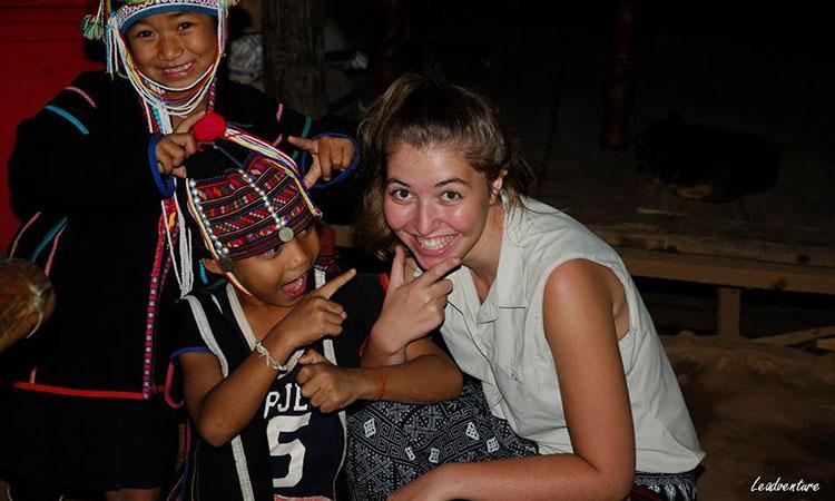 Rencontre avec les tribus en Thaïlande