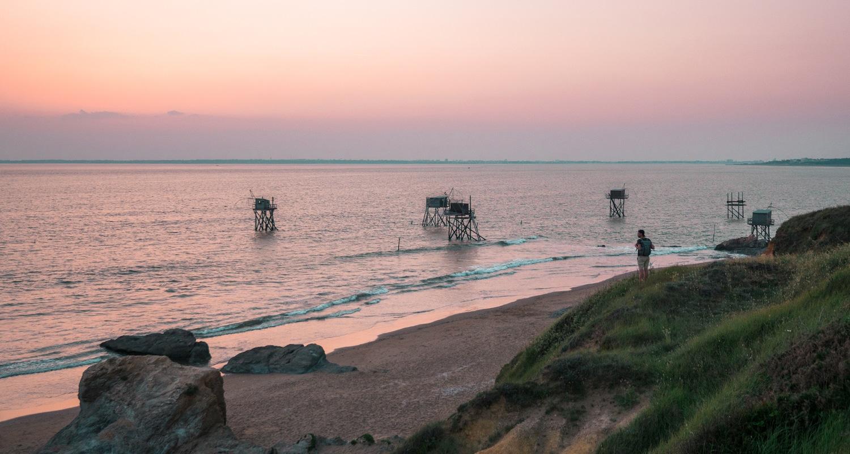 Plage du Gohaud en Loire atlantique
