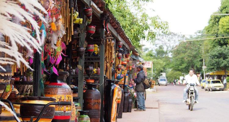 Les boutiques touristiques à Asuncion - Vivre au Paraguay