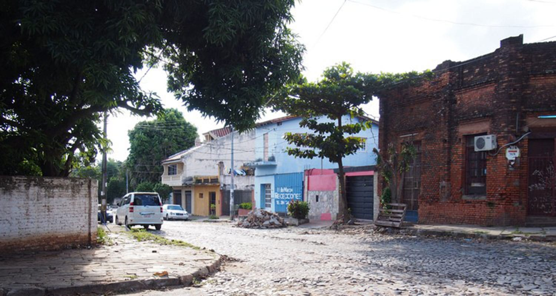Rue de la capitale Asuncion - Vivre au Paraguay