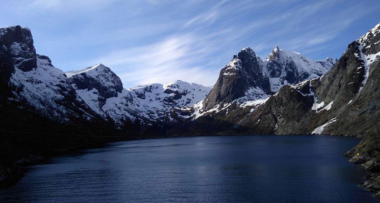 Les magnifiques paysages de lofoten en Finlande