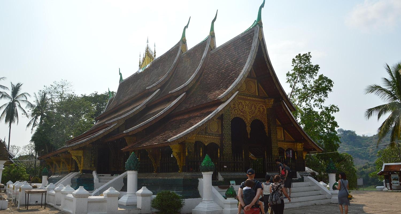 Les temples à luang Prabang