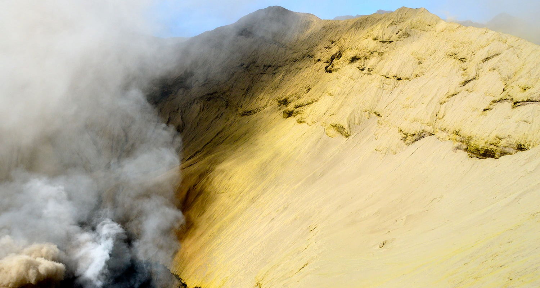 le cratère du mont bromo