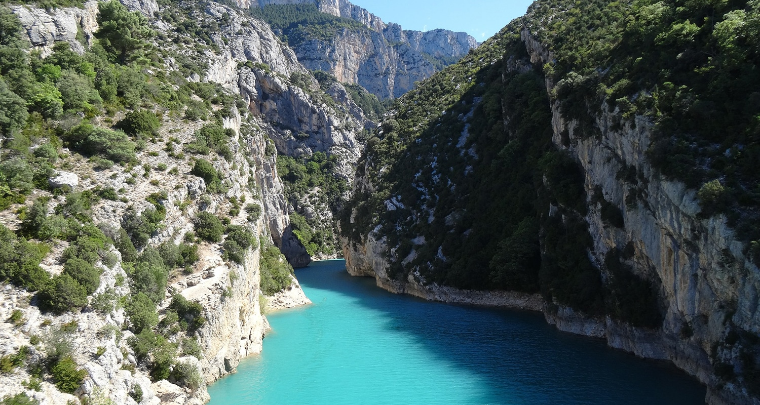 Gorges du Verdon weekend en France