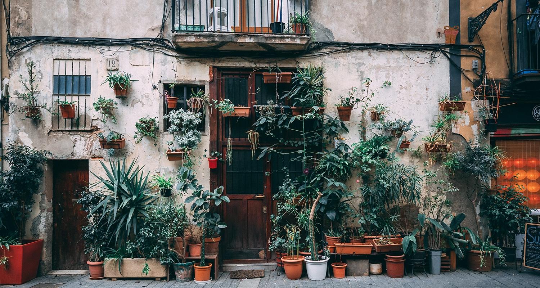 Le quartier gothique à Barcelone