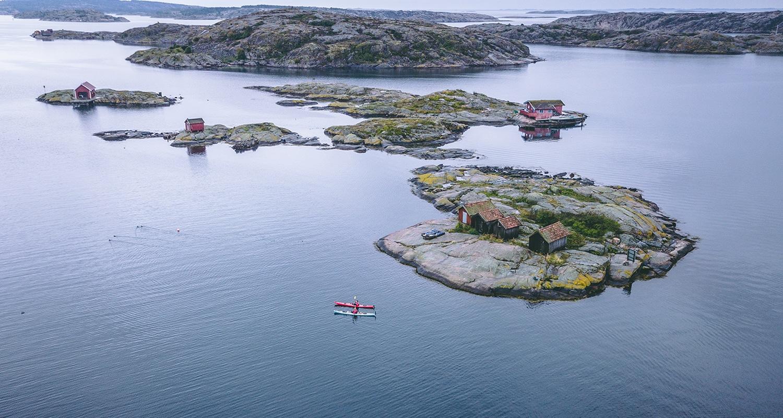 faire du Kayak à Grebbestad, une expérience à faire en Suède