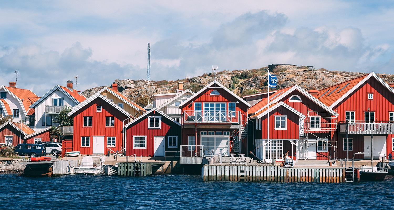 Skärhamn un village en suède