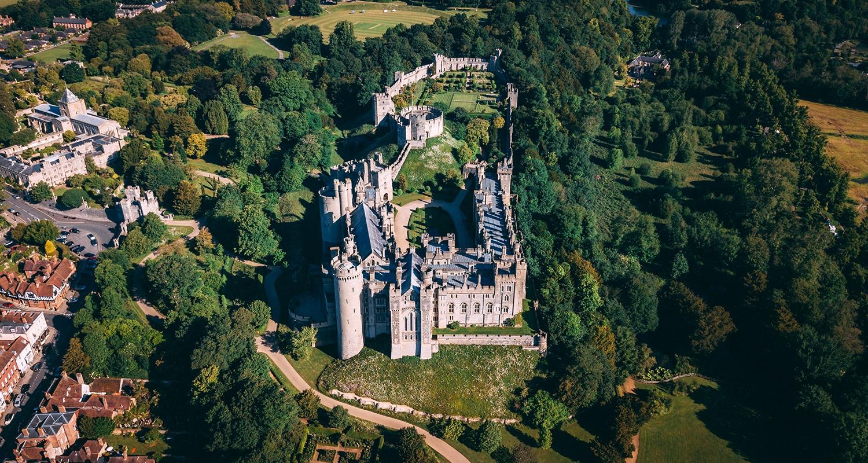 Le sud de l'Angleterre possède énormément de châteaux, Arundel est l'un des mieux conservés