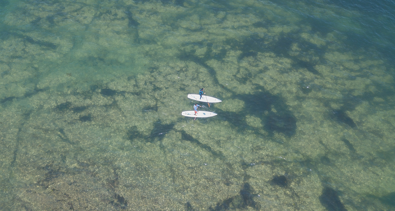 Paddle à Piriac sur mer en Loire Atlantique