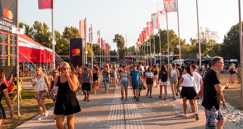 Sziget festival entrée
