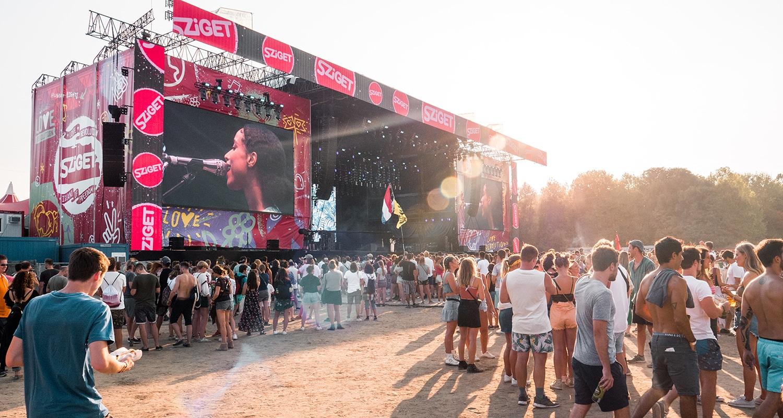 Le Sziget festival à lieu en Aout