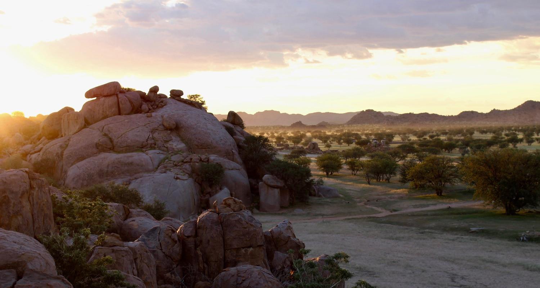 Coucher de soleil Damaraland