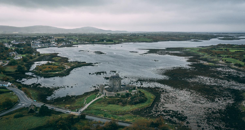 Château de Dunguaire, un paysage typiquement irlandais
