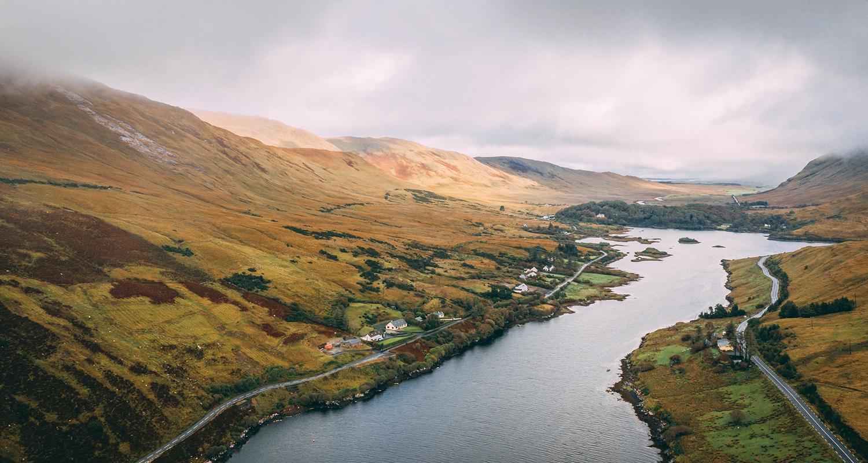 Le plus grand fjord d'Irlande, le Killary Fjord