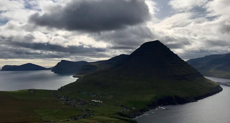 Viðareiði sur les îles féroé