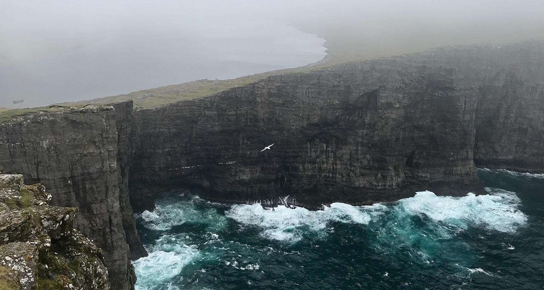 Sørvágsvatn aux iles féroé