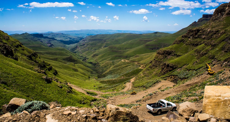 plus belle route du monde, en afrique du sud