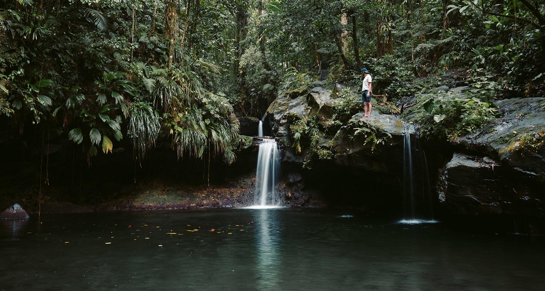 Le bassin Paradise, l'endroit parfait pour se relaxer