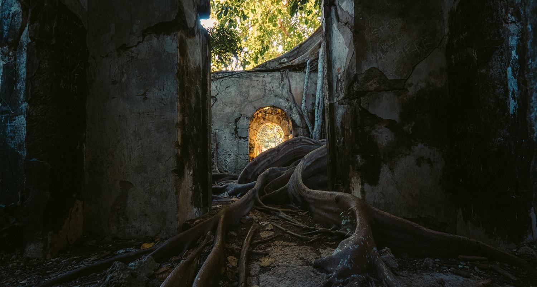 La prison abandonnée en guadeloupe