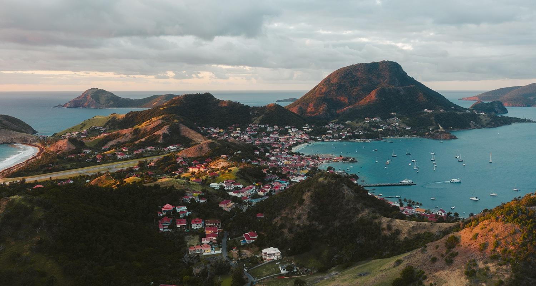 Les Saintes, des îles un peu moins connues en Guadeloupe