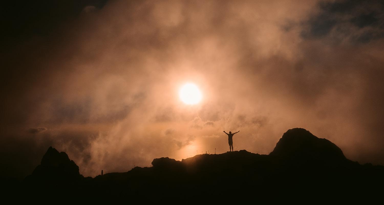 le sommet de la soufriere, le plus haut point de Guadeloupe
