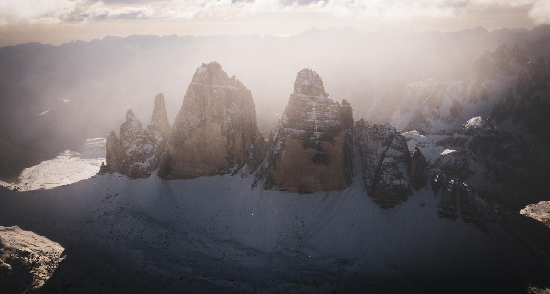 Les 3 cimes, l'un des plus beaux sommets des Dolomites