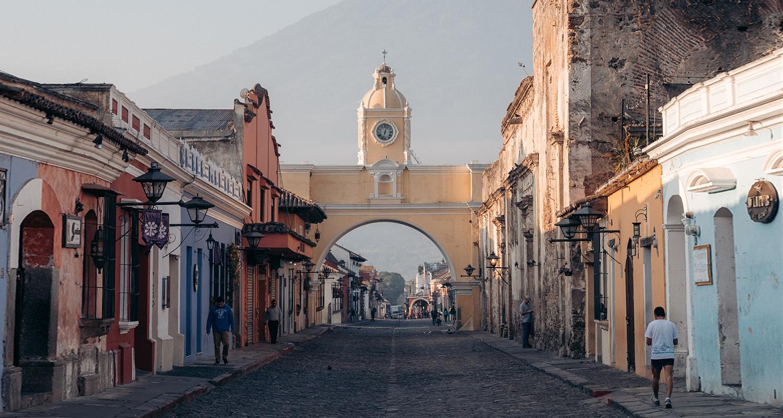 L'Arche de Santa Catalina à antigua
