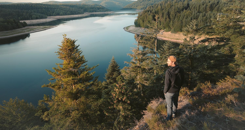 Le lac pierre percée est juste magnifique