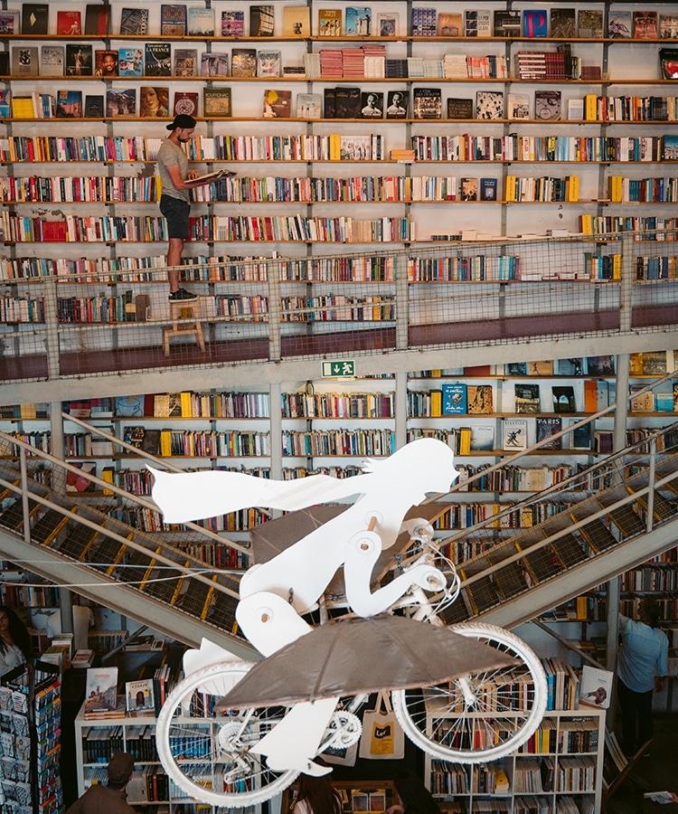 L'une des plus belles librairies du monde