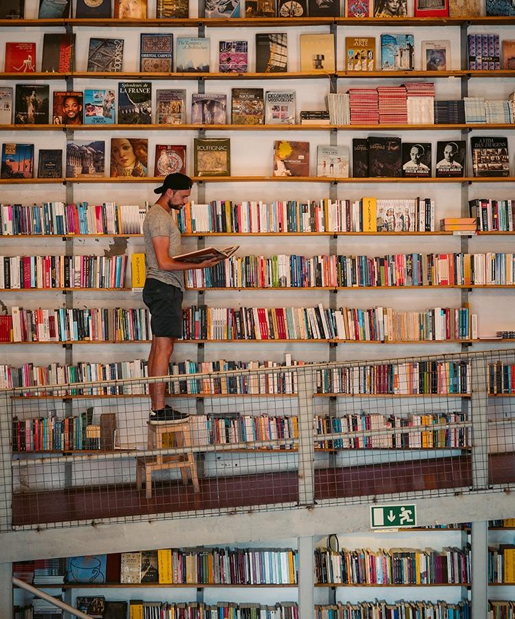 L'une des plus belles librairie du monde