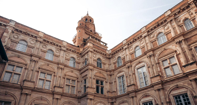 Que faire a Toulouse : visiter ses cours intérieur